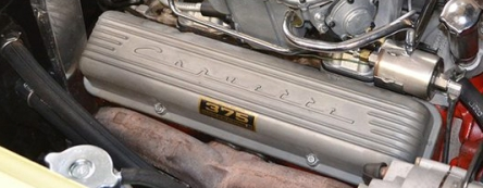 Original finned Corvette valve covers