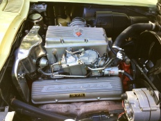 Largely original L84 engine bay