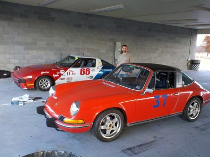 CMP track day, testing out my 1973 911